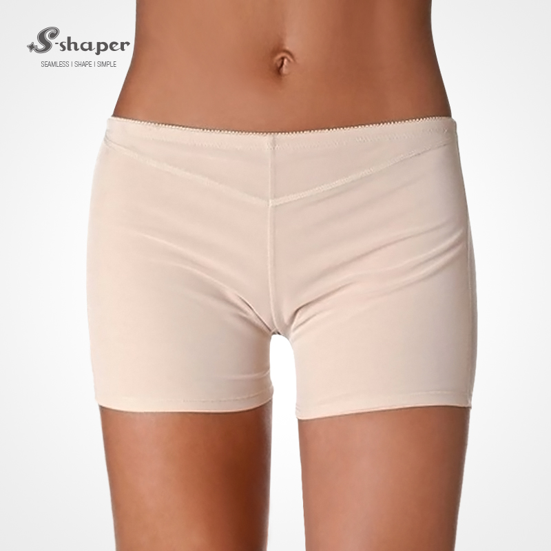 S-SHAPER 2016 Hot Sale Women`s Fullness Girdle Butt Lifter Boy Shorts Enhancer Shapewear Panty