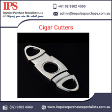 High Quality Oval Shaped Cigar Cutters
