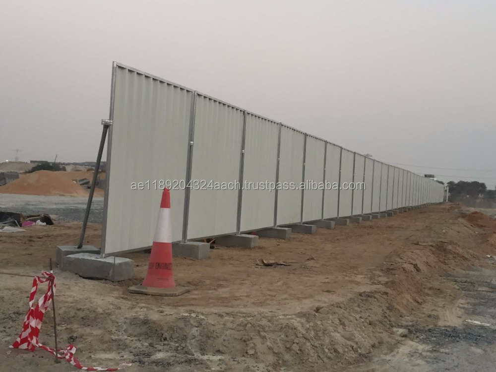 Fencing Supplier in UAE - Construction hoarding Supplier +971 551766516