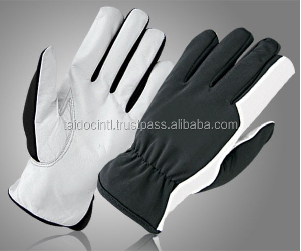 Grain Goatskin Leather Gloves/Assembly Gloves/Best quality bu taidoc