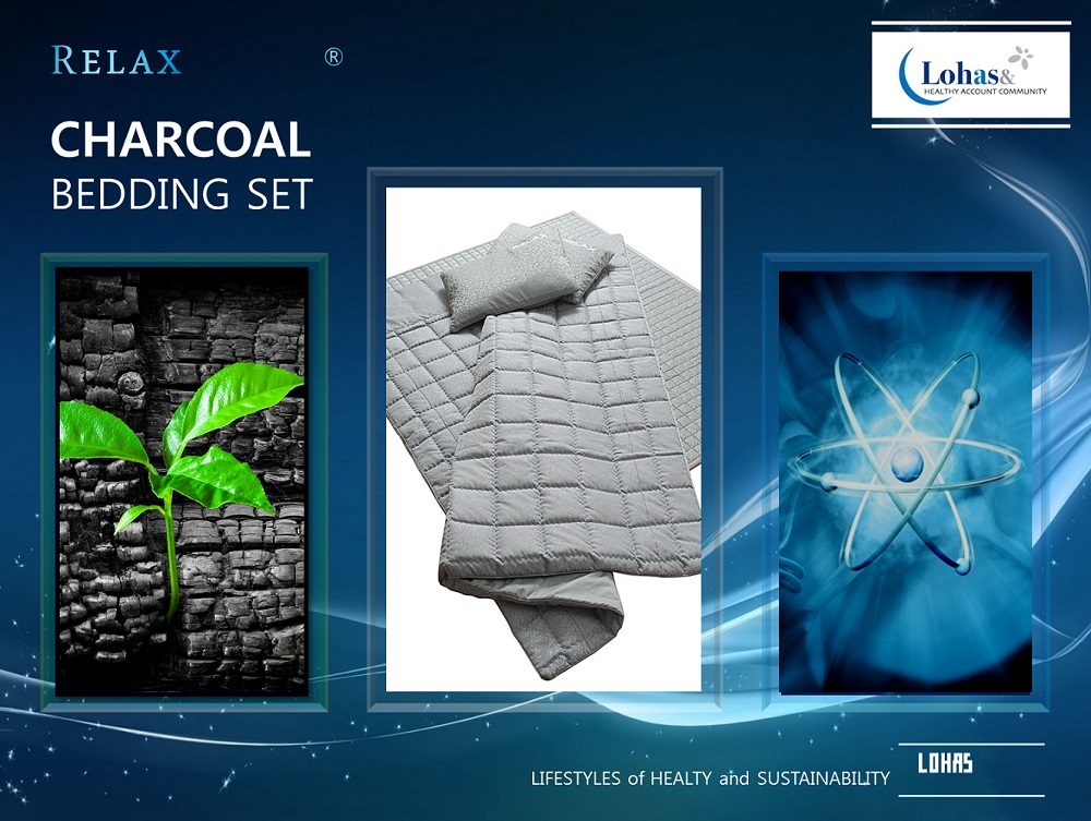 Korea best_CHARCOAL Functional Bedding Set_Keep your health!! on your sleeping