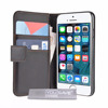 Wallet Case Cover for iPhone SE - Black