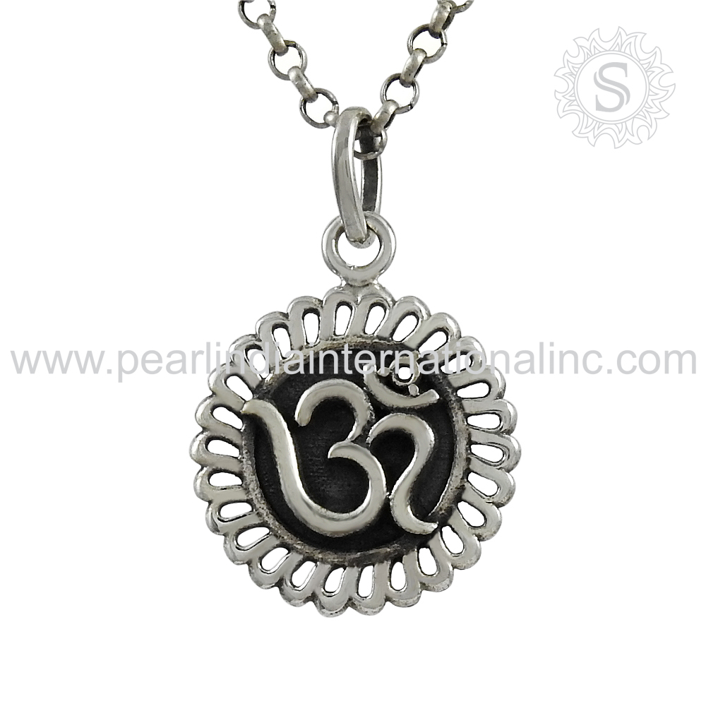Beautiful Design Plain Silver Pendant 925 Silver Jewelry Handmade Silver Pendant Wholesale Pendant