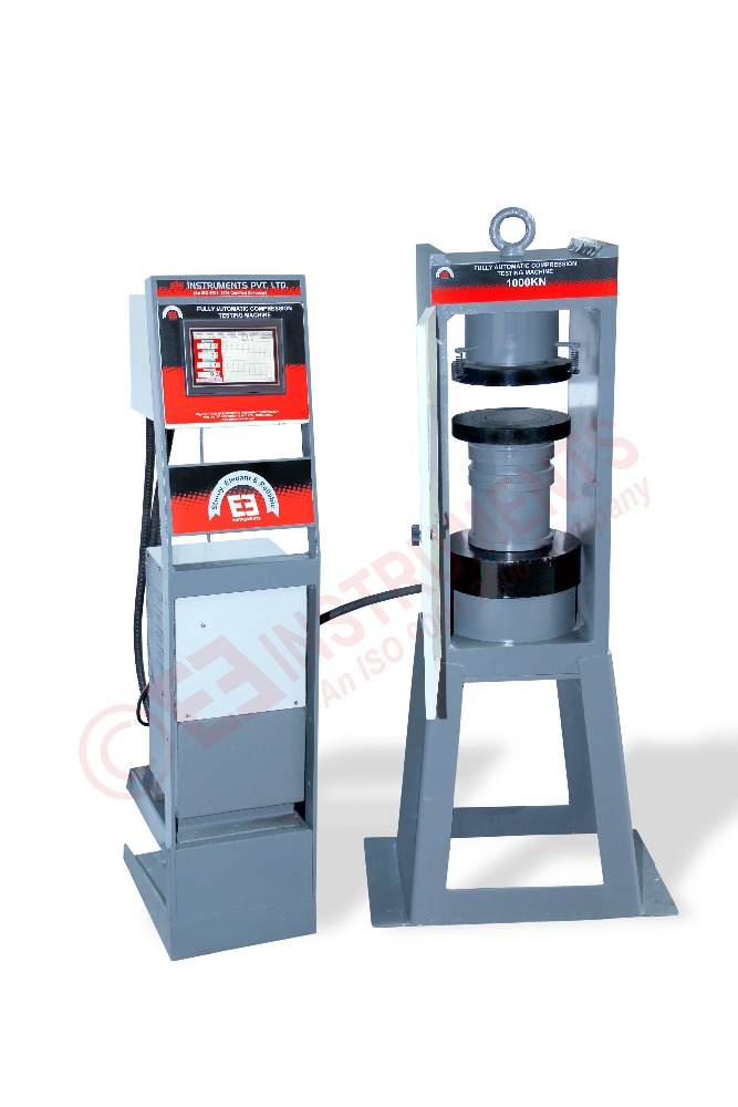 Compact Design Cube Compression Testing Machine with Optimum Finish