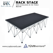 Bottom price 1.22m x 1.22m used mobile stage for sale