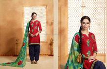 Fresh Fabulous Patiala Readymade Embroidery Suits