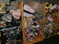 Used bodyboard with plastic products like toys, baby items by 40 FT HQ container exported from Japan TC-009-04