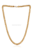 Stunning Unisex LOTUS Chain In Solid BIS Hallmark 22K Yellow Gold