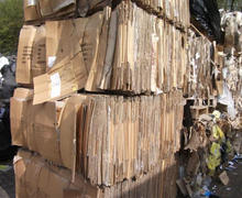 Occ Corrugated grade waste paper Scrap