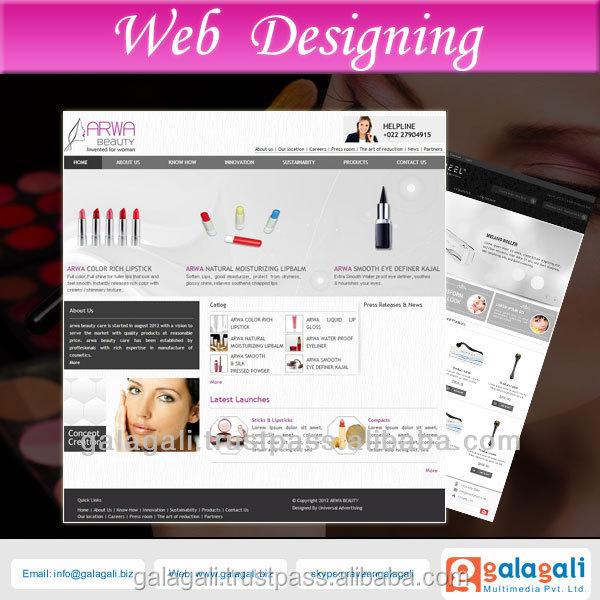 PHP eCommerce Website Design and Web Development for Jewelry Gemstone and Diamonds with SEO at Best Price