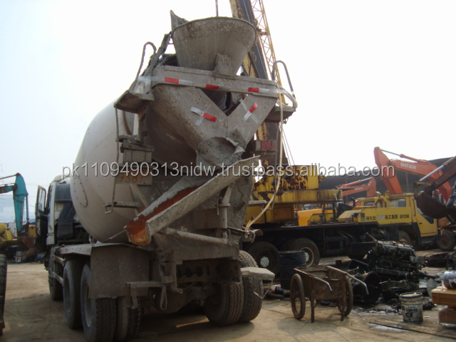 used isuzu diesel trucks for sale, japanese isuzu concrete mixer cheap price