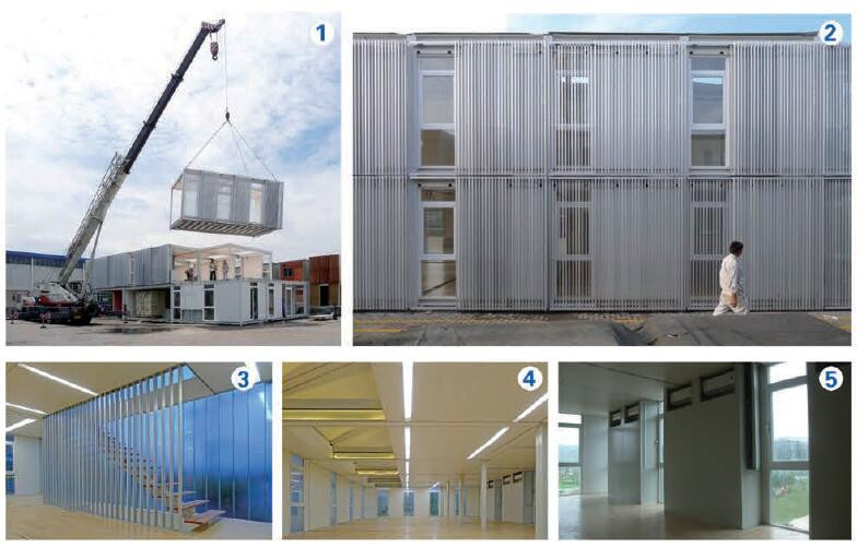 container villa with mobile villa