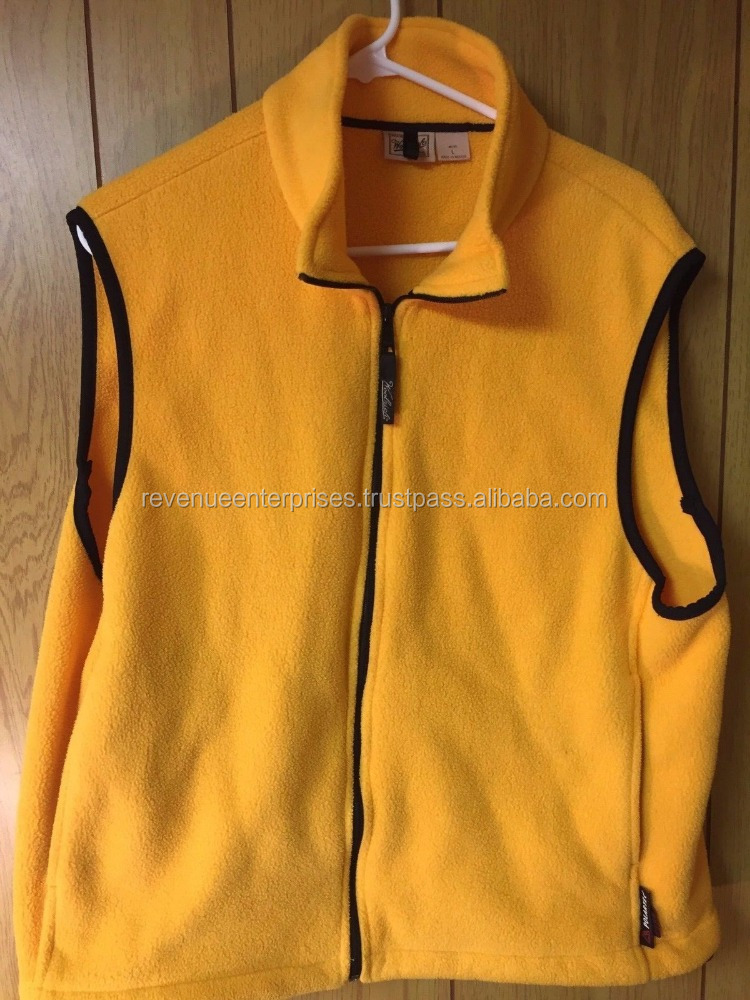 Stylish super warm sleeveless fleece jackets/Super warm sleeveless winter jackets