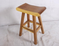 Eco-Friendly Teak Root Furniture Stool