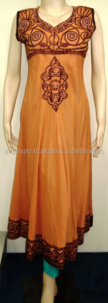 Pakistani frock dress / pakistani fork style womens dress