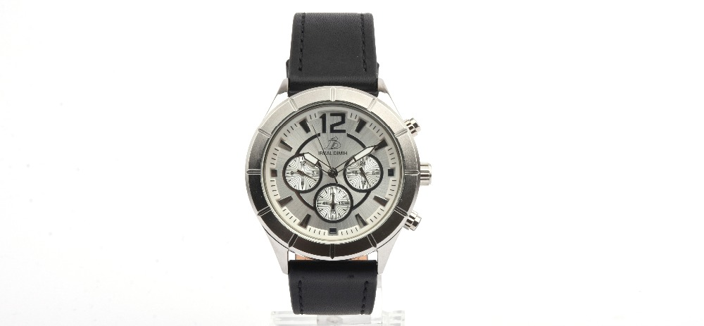 IRMAL DIMIH-GENUINE LEATHER-BLACK-SILVER-SILVER-M-ID010569