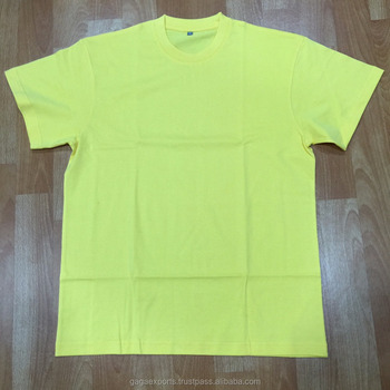 100 % COTTON KNITTED MEN BASIC T-SHIRTS