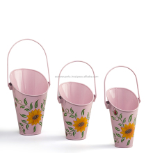 Decorative Metal Hanging Basket Planters | Outdoor Planters Flower Pots