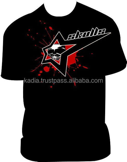 Mens T-shirt with front printed logo