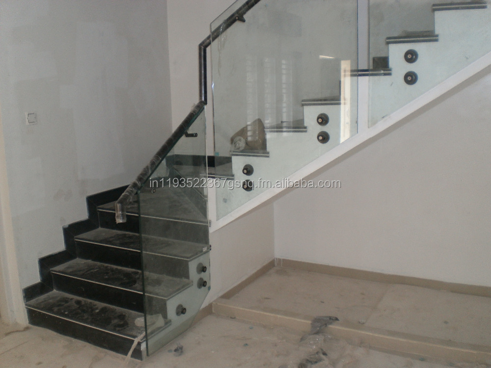 Side Mounting Glass Railing System
