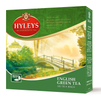 Hyleys English Green Tea Bags
