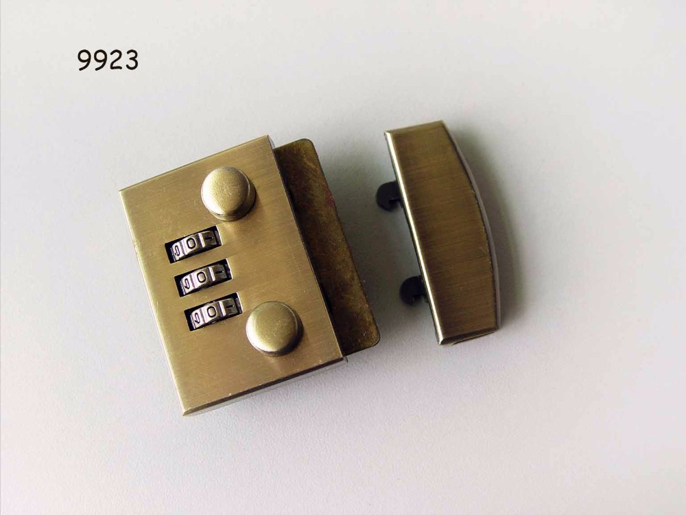 Best number lock for leather bags,hardware brifecase code lock