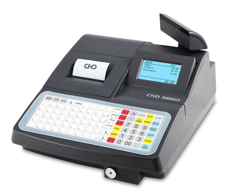CHD 5880 cash register for restaurants