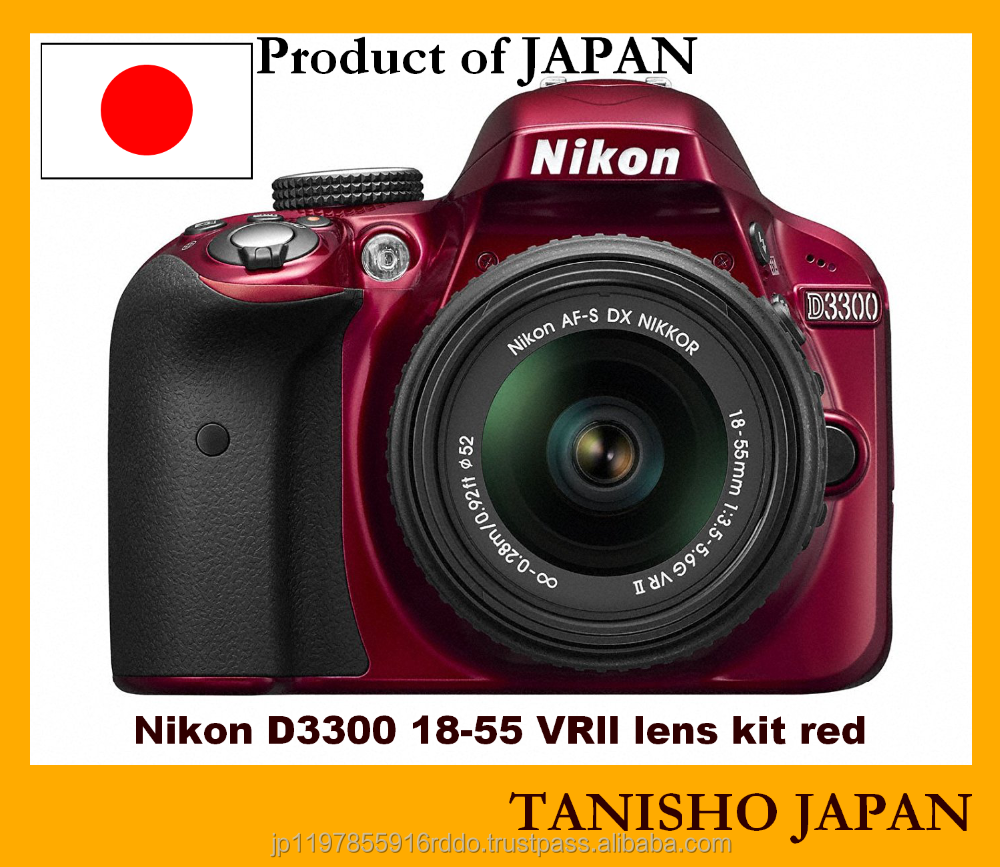 Japanese brand new Nikon D3300 Camera digital Camera with one-year manufacturer guarantee
