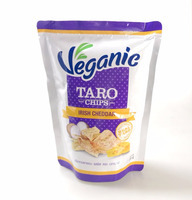 Taro Chips Original Fried Vegetable and Fruit Snack from Thailand