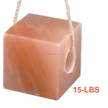 Himalayan Natural Block Salt Licks Licking Feed Mineral Stone 15 LBS for Livestock Cattle Horse Camel Cow Sheep