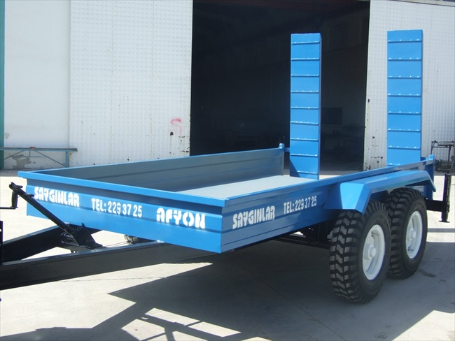 Trailer For Carrying Forklift and Car Trailer 4 Tonnes Trailer Double and Single Axle