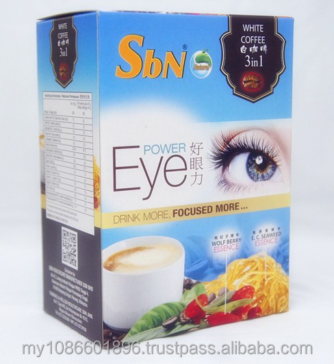 White Coffee / Instant Coffee / 3 in 1 White Coffee for Power Eye Instant