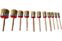 Natural Bristle Paint Brushes