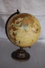 Stationary Earth Globe on Metal Stand