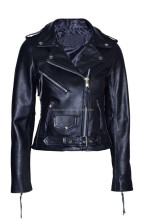 Elegant formal winter leather jacket for women,winter leather motorbike jacket