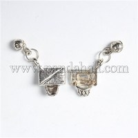 Tibetan Style Pendants, Lead Free & Cadmium Free, Basketball Stands with Basketball, Antique Silver, 33x15x6mm, Hole: 5mm
