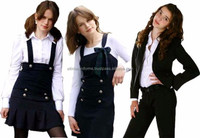 Hot sell factory price school clothes,all grades students school uniform