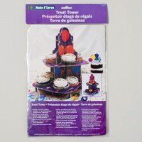 CUPCAKE STAND TREAT TOWER 8.5X12 BALLOON DESIGN CARDED #5715