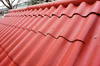 Non asbestos cement roofing sheet labeled DURAGREEN