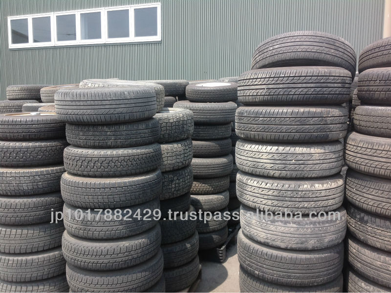 RECYCLED TYRE FOR JAPANESE/FOREIGN PASSENGER CARS EXPORTED FROM JAPAN