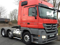 USED TRUCKS - MERCEDES-BENZ ACTROS 2544 (RHD 820421 DIESEL)