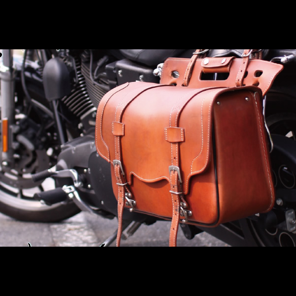 motorcycle leather bags and accessories