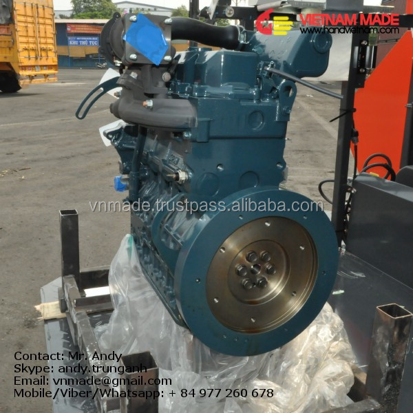 KUBOTA diesel engine water pump set price V2403-M-DI-TE-CK3T