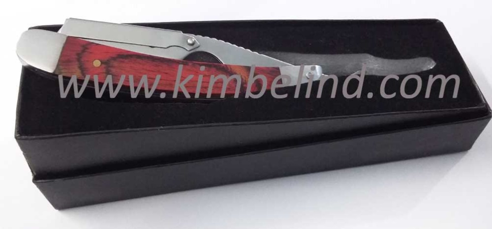 fully stainless steel barber straight razor/ single blade barber shaving razor/ new top quality razors