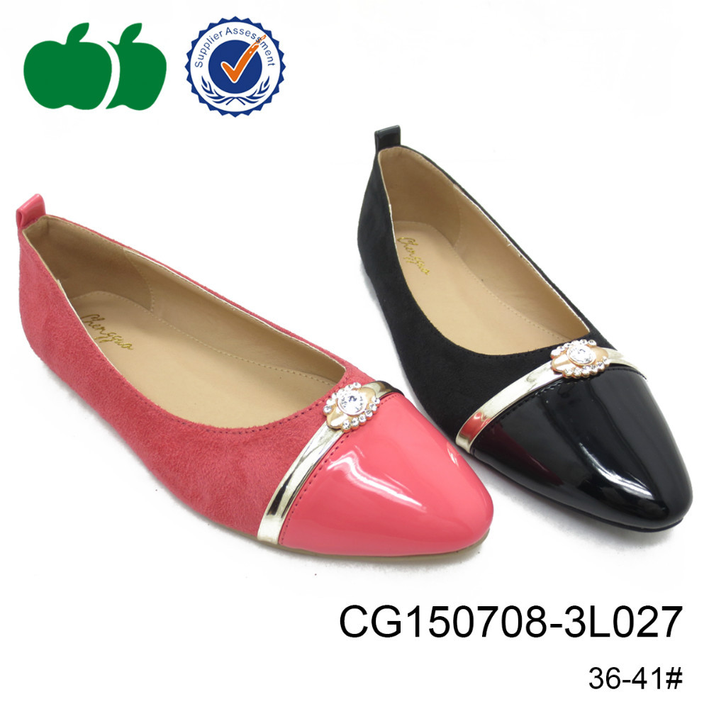 Cheap latest design lady fashion shoes women pu plastic jelly shoes
