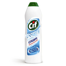 CLEANING CHEMICAL / BATHROOM CLEANING / DETERGENT / CIF Versatile Bleach Cream Bright Clean 500ml