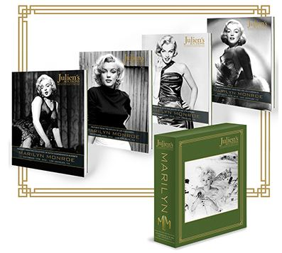 Marilyn Monroe 2016 Box Set Auction Catalogs