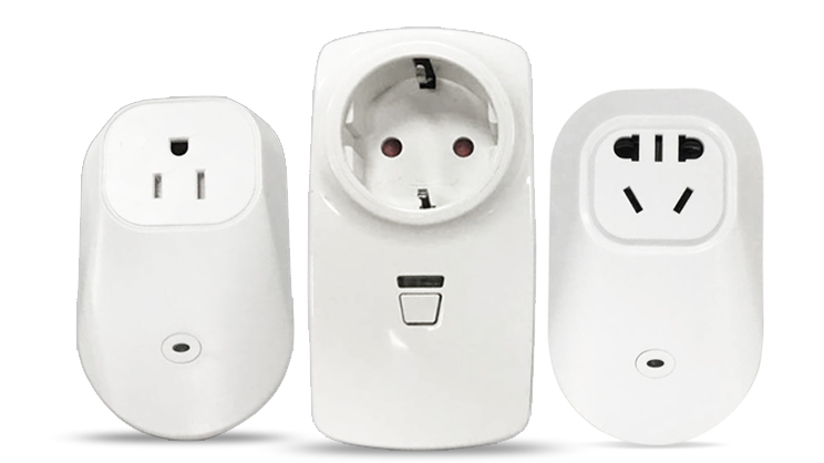 Nice design smart socket & AU/US/EU/UK version smart plug socket for home automation