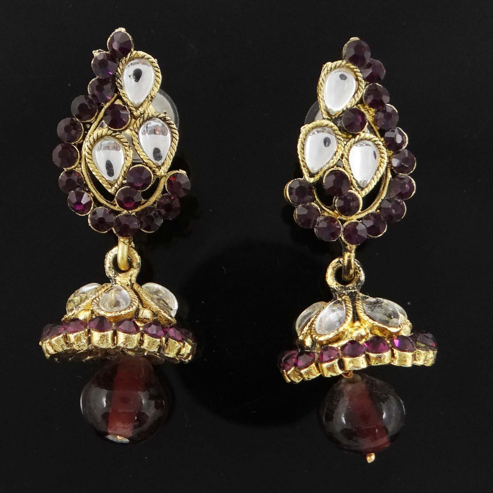 Traditional Indian Ethnic Dangle Earring Bridal Asian Bollywood Jewelry BSE5004A
