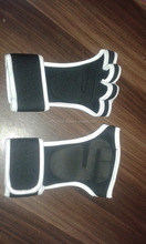 Leather Weightlifting Grip Palm Pads Gloves/Weight Lifting Hand Pads/Fitness Gym Grip Pads design by EURO SKT Co ..